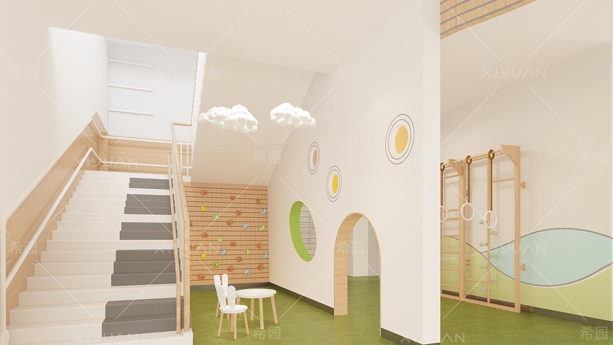 幼儿园楼梯扶手设计