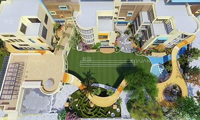 马尾第二实验幼儿园户外场地设计