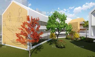 七巧板幼儿园建筑设计