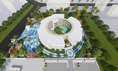 滨河西路幼儿园建筑设计