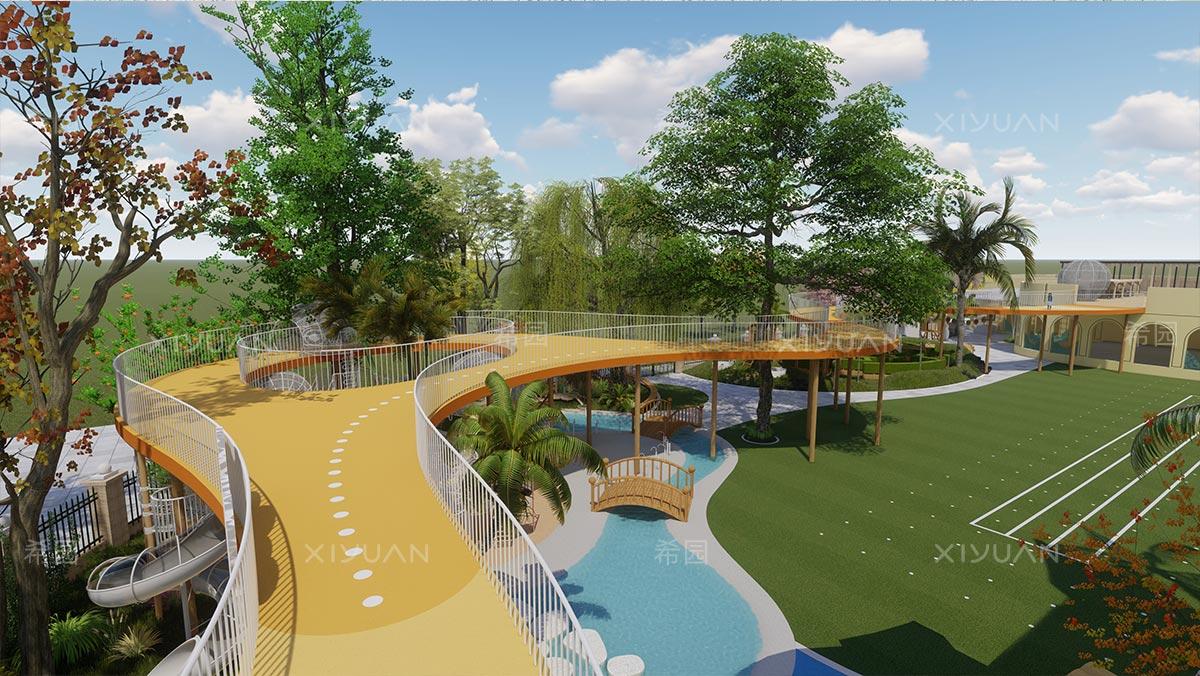 幼儿园跑道设计