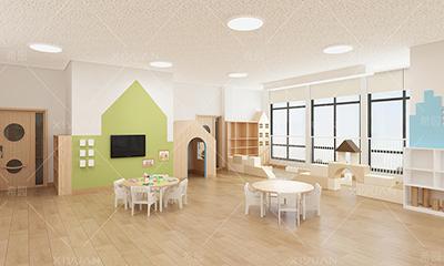 福州小东坑幼儿园室内空间设计